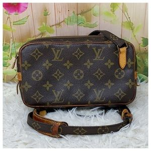 Authentic Louis Vuitton Monogram Marly Crossbody